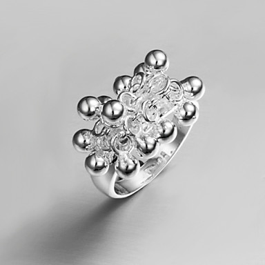 Veliki modni prstenVintage / Slatko / Zabava / Posao / Ležerne prilike(Sterling srebro