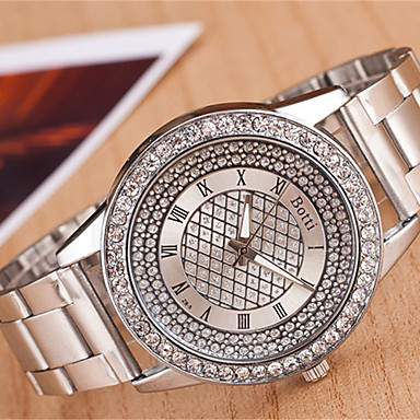 Z.xuan Women's Steel Band Analog Quartz Strap Watch Casual Watch Cool Watches Unique Watches Fashion Watch