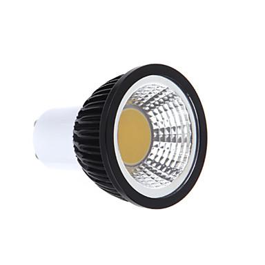 350lm GU10 LED Σποτάκια MR16 1 LED χάντρες COB Με ροοστάτη Θερμό Λευκό / Ψυχρό Λευκό / Φυσικό Λευκό 220-240V