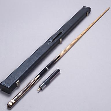 Cue Sticks és kiegészítők Medence Sznúker English Biliárd Háromnegyed Kétrészes Cue Fa