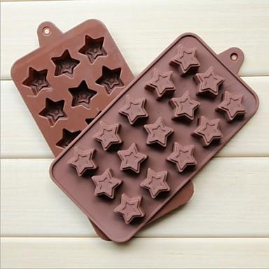 σιλικόνη μόδας εργαλεία παγωτό σοκολάτα ζελέ διακόσμηση τούρτα μούχλα κουζίνα bakeware μαγείρεμα μούχλα (τυχαία χρώμα)