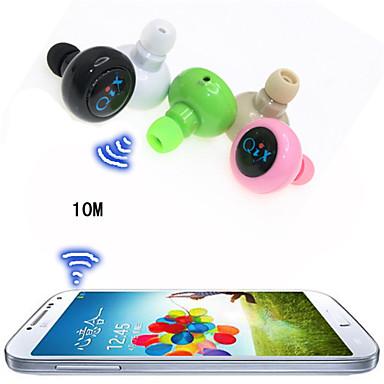 draadloze sport headset anti-straling mini stereo bluetooth in-ear oortelefoon voor iPhone 6 / 6plus s6 (assorti kleur)