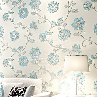 New Rainbow™ Country Wallpaper for Bedroom Wall Covering Non-woven Fabric Material Wall Art