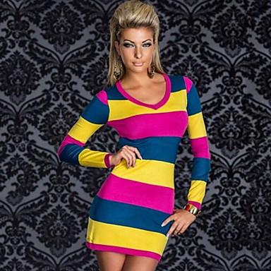 4b5ccd63334 Επίδοση / Ρούχα για Κλαμπ - Φορέματα - Γυναικεία ( Μπλε / Κόκκινο / Λευκό /