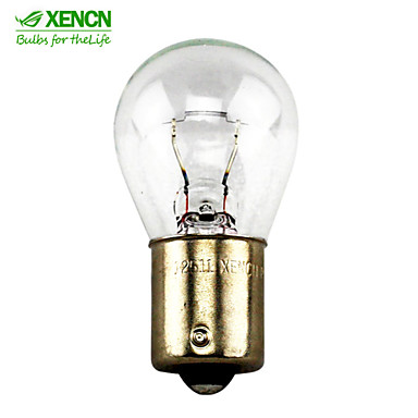10db xencn P21W (s25) BA15s 12v 21W külső világítás figyelmeztető lámpa irányjelző autó mentés izzók