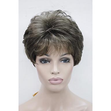 povoljno Perike i ekstenzije-Sintetičke perike Ravan kroj Stil Capless Perika RM73 Sintentička kosa Žene Perika Hivision
