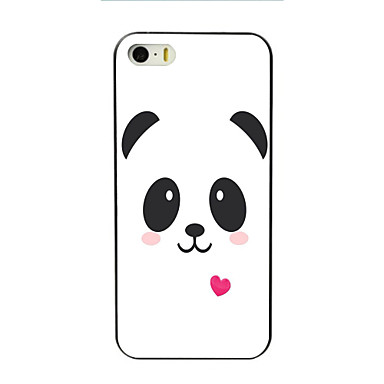 Case For Apple iPhone 5 Case iPhone 6 iPhone 6 Plus iPhone 7 Plus iPhone 7 Pattern Back Cover Panda Cartoon Hard PC for iPhone 7 Plus