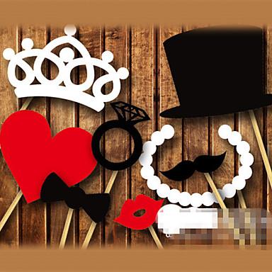 voordelige Feestbenodigdheden-Fotohokje rekwisieten Parel Papier Bruiloftsdecoraties Bruiloft / Feest Strand Thema / Tuin Thema / Vegas Thema Lente / Zomer / Herfst