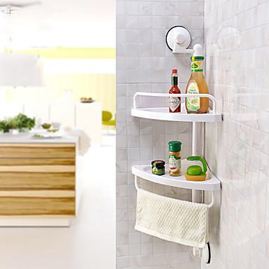 Полка для ванной Высокое качество Современный пластик 1 ед. - Гостиничная ванна На стену