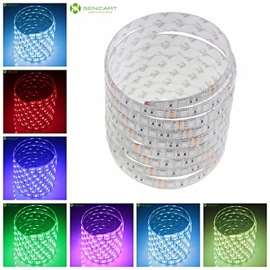 150x5050smd rgb / sıcak beyaz / yeşil / mavi / pembe / sarı / kırmızı / beyaz şerit led lamba 36W z®zdm 250cm (DC12V)