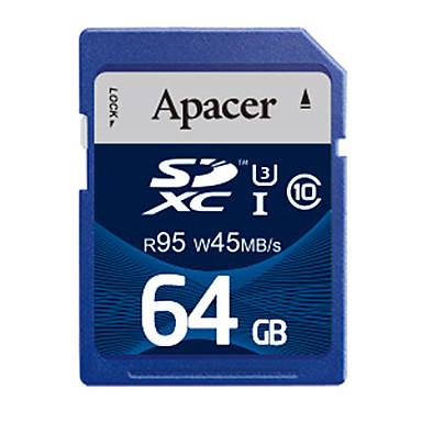 Apacer 64 γρB Κάρτα SD κάρτα μνήμης UHS-I U3 class10