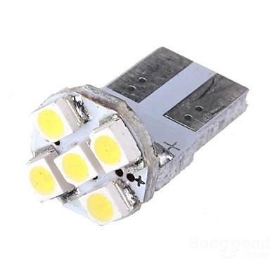 2 x T10 Xenon White 5-SMD 168 194 3528 LED Car License Plate Bulbs