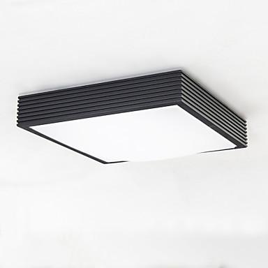 Unterputz Deckenfluter - LED, 110-120V / 220-240V, Weiß, LED-Lichtquelle enthalten / 5-10㎡ / integrierte LED