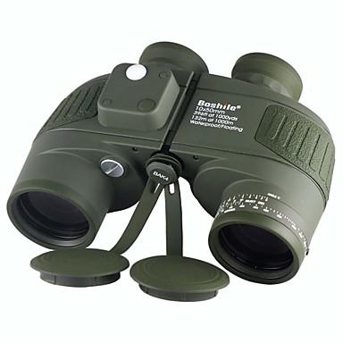Boshile 10 X 50 mm Fernglas Wasserfest / Dachkant / Nachtsicht im Niedrigen Licht Armeegrün / IPX-7 / Volle Mehrfachbeschichtung / ja