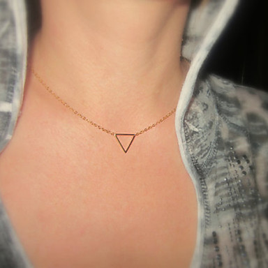 Women's Pendant Necklace - Simple Style, Fashion Gold, Silver Necklace For Special Occasion, Birthday, Gift