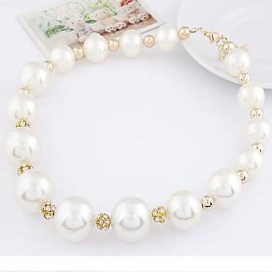 Для вечеринок - Короткие ожерелья (Сплав/Искусственный жемчуг)
