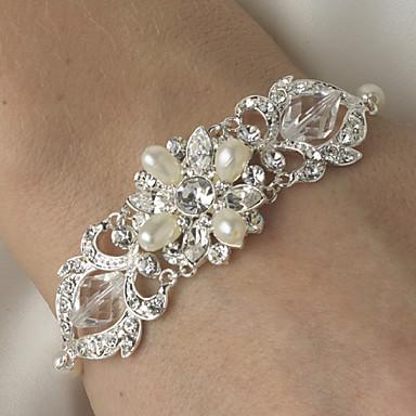 Kristall - Charme Armbänder Silber Für Hochzeit / Party / Geburtstag / Verlobung / Geschenk / Alltag