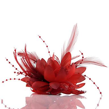 Fleurs de mariage Forme libre Roses Petit bouquet de fleurs au poignet Mariage La Fête / soirée Tulle Cuir Mousseline