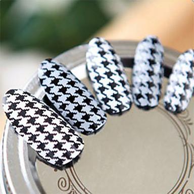Adesivi 3d Unghie Manicure Manicure Pedicure Adorabile Di Tendenza Quotidiano - Adesivi Per Unghie 3d #03773224 Imballaggio Di Marca Nominata