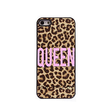 Modern/Rajzfilm/Különleges design/Sportok/Klassz koponyák/Leopard nyomat - Műanyag/fém - iPhone 4/4S - Többszínű