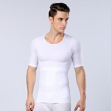 New Arrival mężczyzna sexy body shaper odchudzanie ćwiczeń brzucha Bielizna termiczna koszulka sportowa gorset mężczyzn