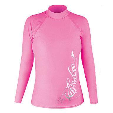 Women's Hiking T-shirt Outdoor Winter Waterproof Thermal / Warm Ultraviolet Resistant Breathable Compression Lightweight Materials Top