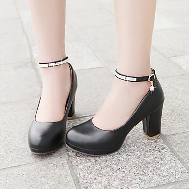 Women's Shoes Stiletto Heel Heels Pumps/Heels Office & Career/Dress Black/Red/White