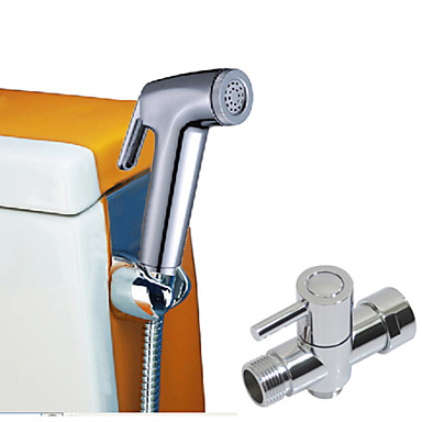 Contemporary Centerset One Hole Single Handle One Hole Chrome , Bathroom Sink Faucet