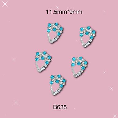Biżuteria na paznokcie/Inne dekoracje - Palec/Inny - Rysunek/Owoc/Kwiat/Streszczenie/Zwierzę/List/Ślub - Inny - 6*5*1 - 10