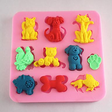 Bakeware Animals Fondant Mold Cake Decoration Mold