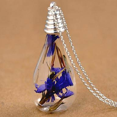 Homme Femme Mode Pendentif de collier Colliers Vintage Verre Alliage Pendentif de collier Colliers Vintage , Mariage Soirée Quotidien