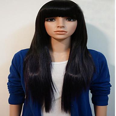 syntetyczne kobiety peruka w stylu prosto ciepła Europen odporne włosów peruki