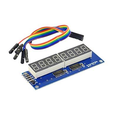 8-Bit-Digital-Rohr-Modul LED zeigt acht Bit parallel 595 Laufwerk senden DuPont Linie