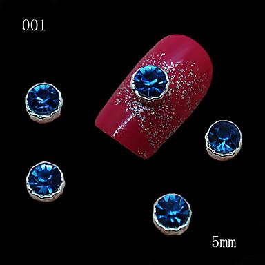 Biżuteria na paznokcie/Inne dekoracje - Palec/Inny - Rysunek/Owoc/Kwiat/Streszczenie/Zwierzę/List/Ślub - Metal - 6*5*1 - 10