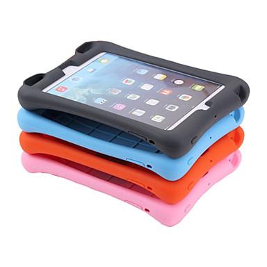 Pouzdro Uyumluluk iPad 4/3/2 Şoka Dayanıklı Satandlı Çocuk Kilidi Tam Kaplama Kılıf Tek Renk Silikon için iPad 4/3/2