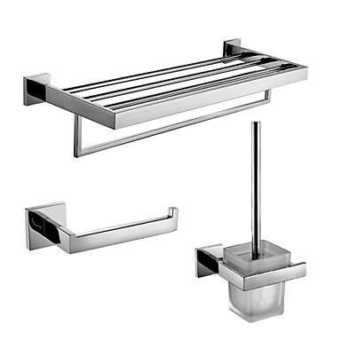 Set de accesorios de ba o moderno acero inoxidable 3pcs - Accesorios bano acero inoxidable ...