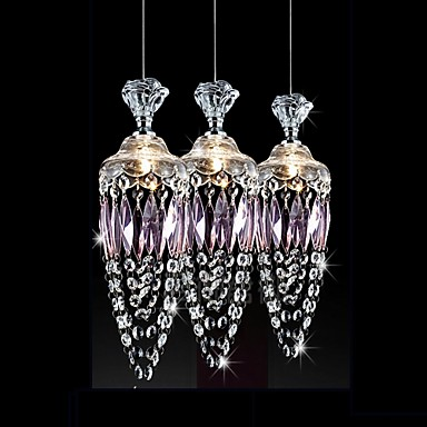 Chandeliers Crystal Modern/Contemporary Living Room/Bedroom/Dining Room/Office Crystal