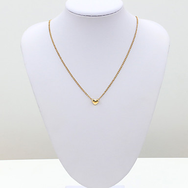 Women's Crystal Choker Necklace - 18K Gold Plated, Stainless Steel, Rhinestone European, Fashion Necklace For Wedding, Party, Daily / Imitation Diamond / Austria Crystal
