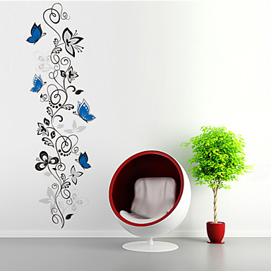 Tiere Formen Blumen Cartoon Design Wand-Sticker Flugzeug-Wand Sticker Dekorative Wand Sticker, PVC Haus Dekoration Wandtattoo Wand