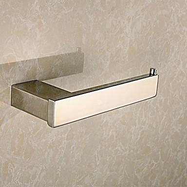 Uchwyt na papier toaletowy Współczesny Stal nierdzewna 16.5cm 15cm Uchwyt na papier toaletowy
