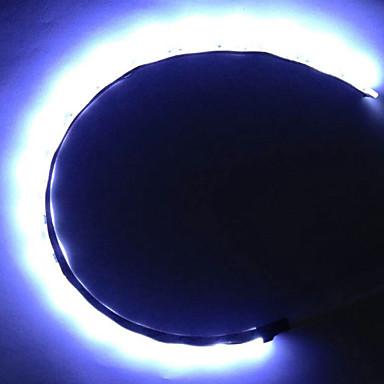abordables Bandes Lumineuses LED-zdm 50cm 5050 dc12v étanche ip65 pc ordinateur led lumière de fond de bande flexible