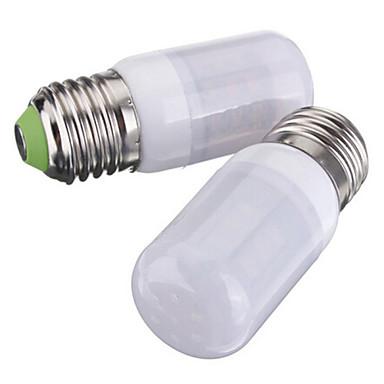 3.5W 250-300 lm E26/E27 LED 콘 조명 T 27 LED가 SMD 5730 따뜻한 화이트 차가운 화이트 DC 12