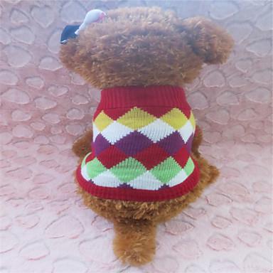 Köpek Kazaklar Köpek Giyimi Izgara Kostüm Evcil hayvanlar için