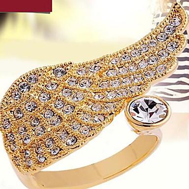 Žene Klasično prstenje Moda Kubični Zirconia Imitacija dijamanta Legura Wings / Perje Jewelry Party