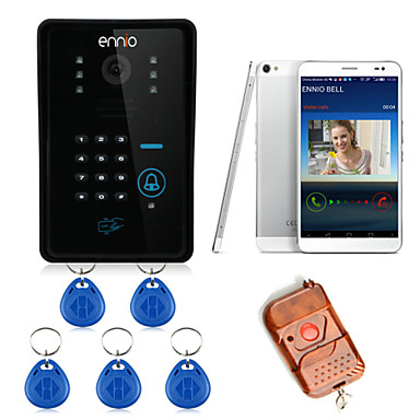 ENNIO WIFI Wireless Video Door Phone System with Card Unlock Function & Access Control System