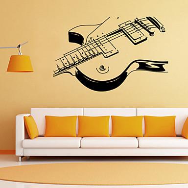 Ρομάντζο Μόδα Σχήματα Κινούμενα σχέδια Μουσική Αυτοκολλητα ΤΟΙΧΟΥ Αεροπλάνα Αυτοκόλλητα Τοίχου Διακοσμητικά αυτοκόλλητα τοίχου, PVC