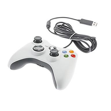 رخيصةأون اكسسوارات اكس بوكس 360-usb تحكم اللعبة ل pc ، الألعاب مقبض تحكم اللعبة abs 1 pcs وحدة