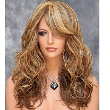 American And European Fashion Wig Shave Pear Volume Wigs Color Mix Color
