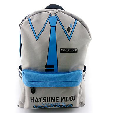 가방 에서 영감을 받다 보컬로이드 Hatsune Miku 아니메/비디오게임 코스프레 악세서리 가방 / 배낭 그레이 나일론 남성 / 여성