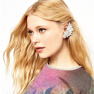 Σκουλαρίκι Χειροπέδες Ear Κοσμήματα 2pcs Κράμα Γυναικεία Ασημί